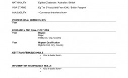 004 Stunning Free Printable Resume Template Australia Image