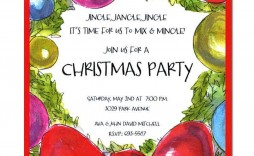 004 Stunning Holiday Open House Invitation Template Sample  Christma Free Printable Wording Idea