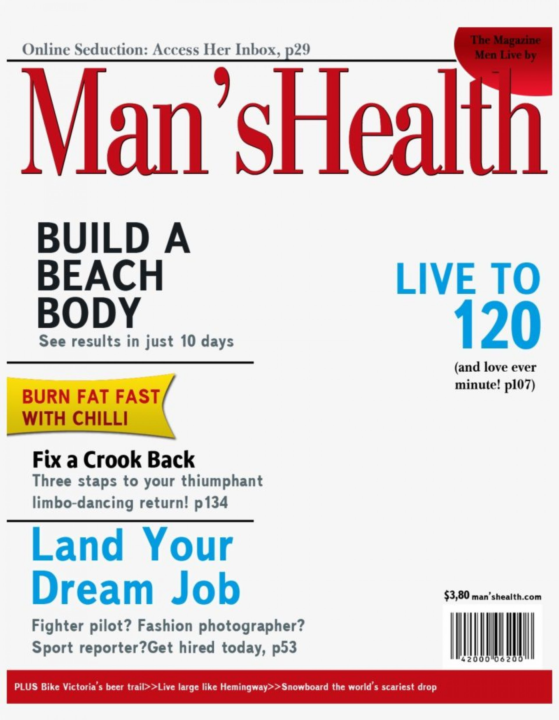 004 Stunning Magazine Cover Template Free Idea  Personalized1920