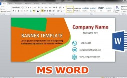 004 Stunning Microsoft Word Banner Template High Resolution  Office For Free M Birthday