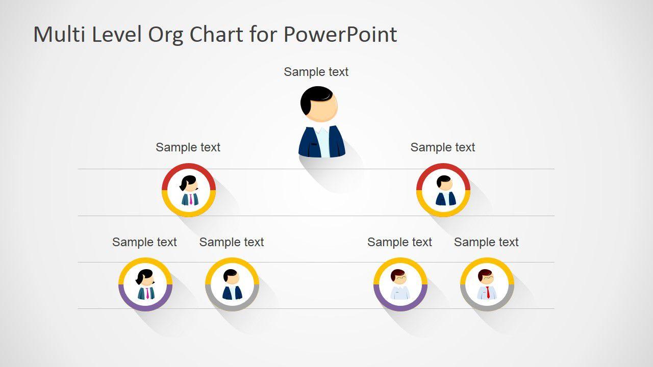 004 Stunning Organizational Chart Template Powerpoint Free Sample  Download 2010 OrganizationFull