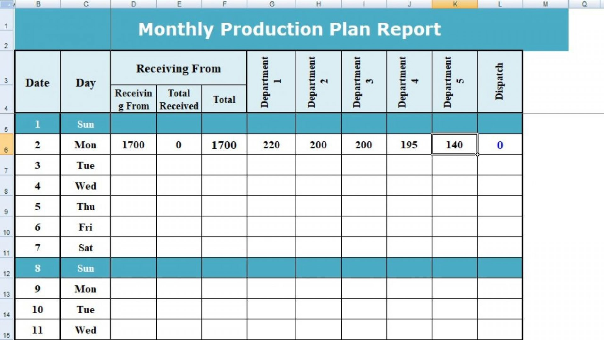 004 Stunning Production Schedule Template Excel Highest Quality  Planning Sheet Master1920