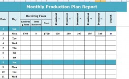 004 Stunning Production Schedule Template Excel Highest Quality  Planning Sheet Master