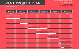 004 Stunning Project Planning Template Free Download Idea  Software Management Plan Excel Xl