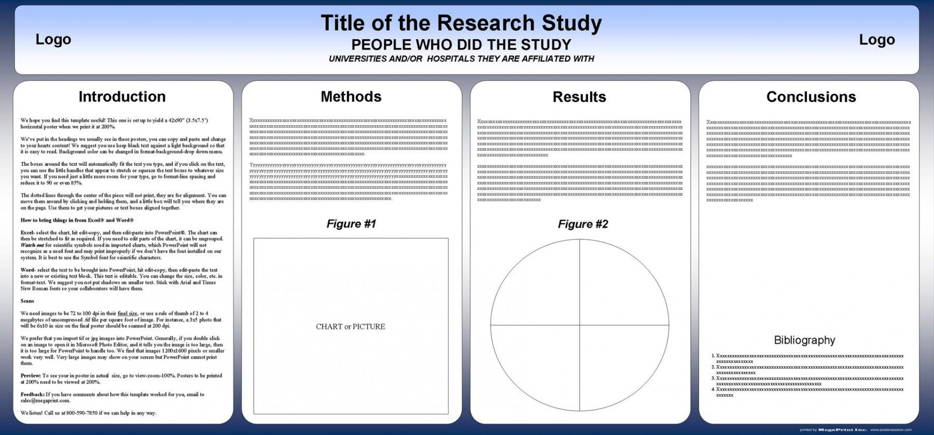 004 Stunning Research Poster Template Powerpoint Example  Scientific Ppt1920