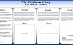004 Stunning Research Poster Template Powerpoint Example  Scientific Ppt