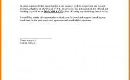 004 Stunning Resignation Letter Sample Free Doc High Def  .doc