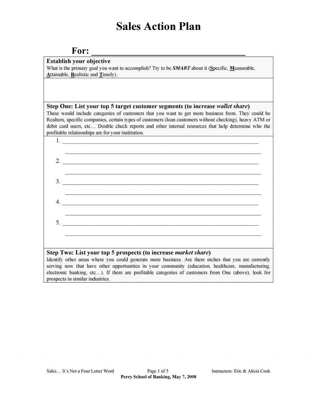 004 Stunning Sale Plan Template Word Concept  Compensation Free BusinesLarge