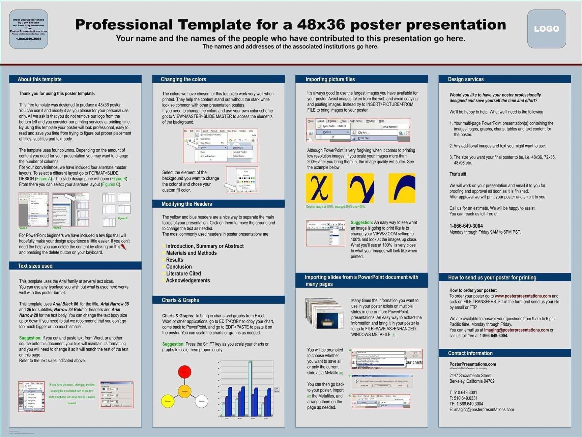 004 Stunning Scientific Poster Template Free Download Photo  A1 Creative1920