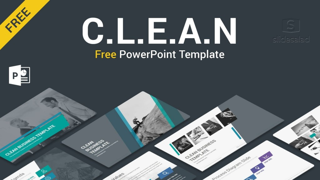 004 Stunning Simple Ppt Template Free Download For Project Presentation High Resolution Large