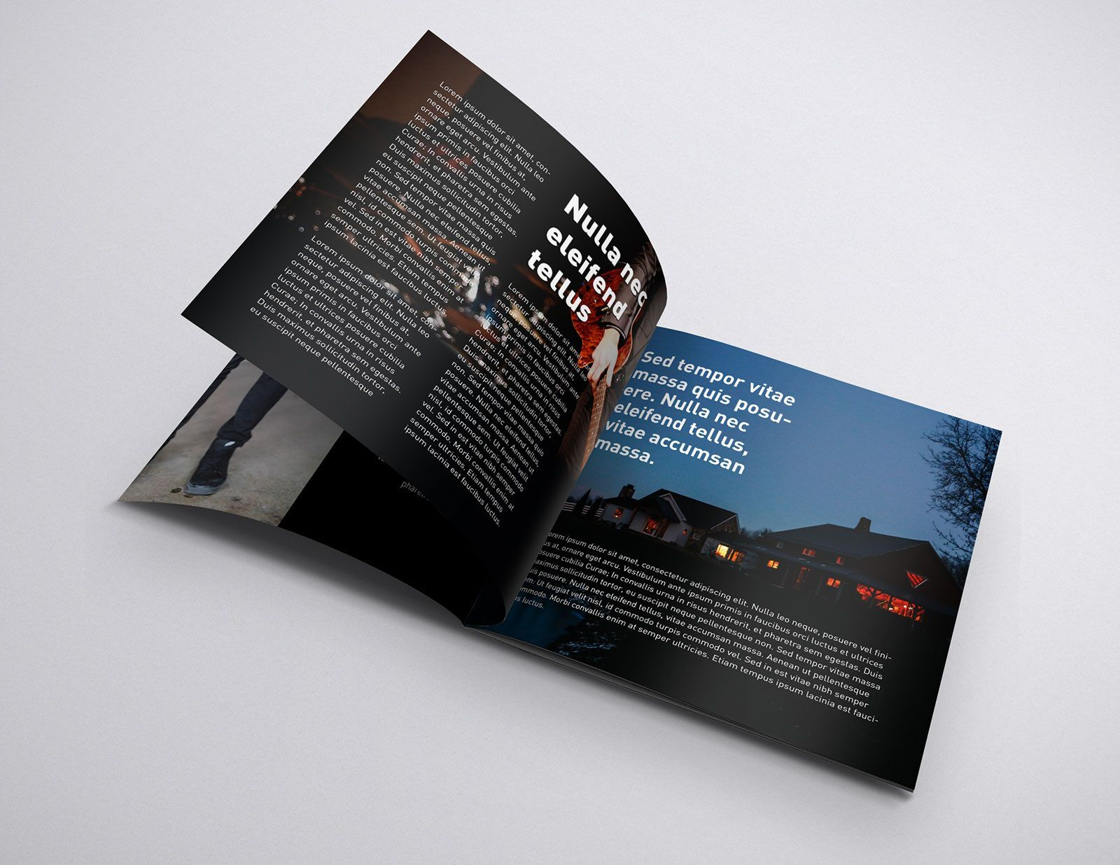 004 Stunning Square Brochure Template Psd Free Download Design Full