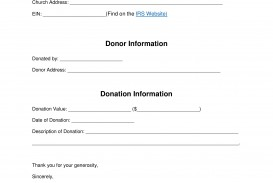 004 Stunning Tax Donation Form Template Highest Quality  Charitable Sample Letter Ir Receipt For Purpose
