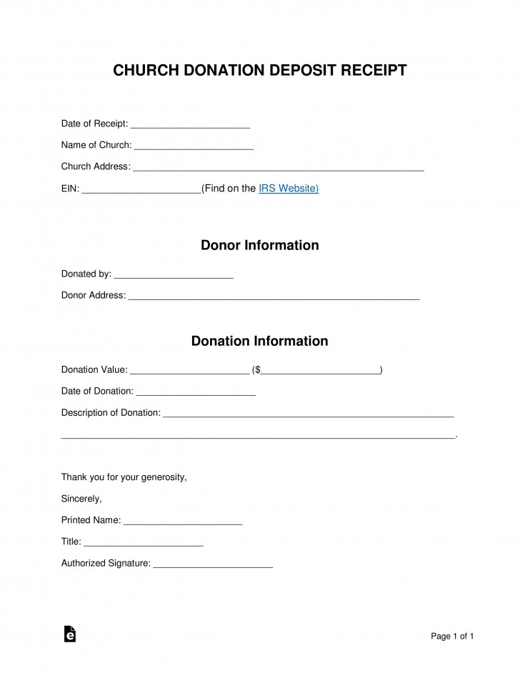004 Stunning Tax Donation Form Template Highest Quality  Charitable Sample Letter Ir Receipt For Purpose728