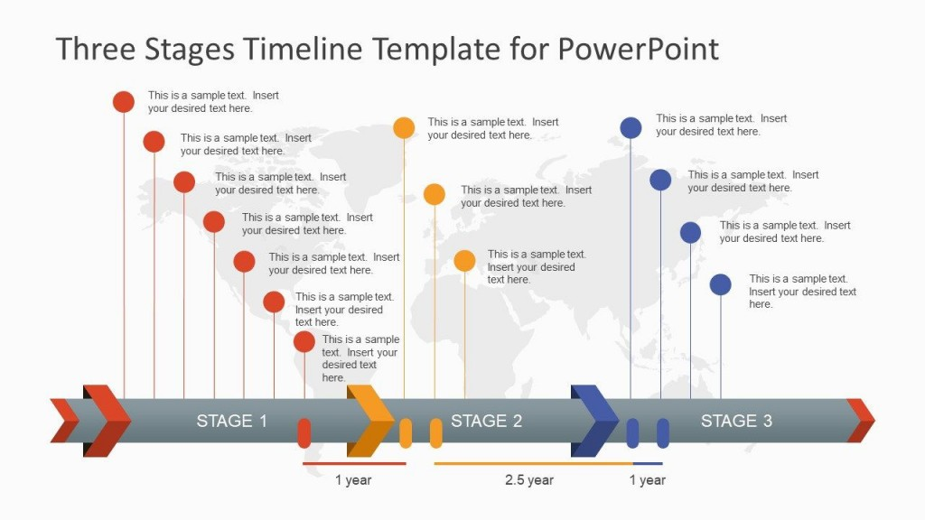 004 Stunning Timeline Template Pptx Photo  Powerpoint ProjectLarge