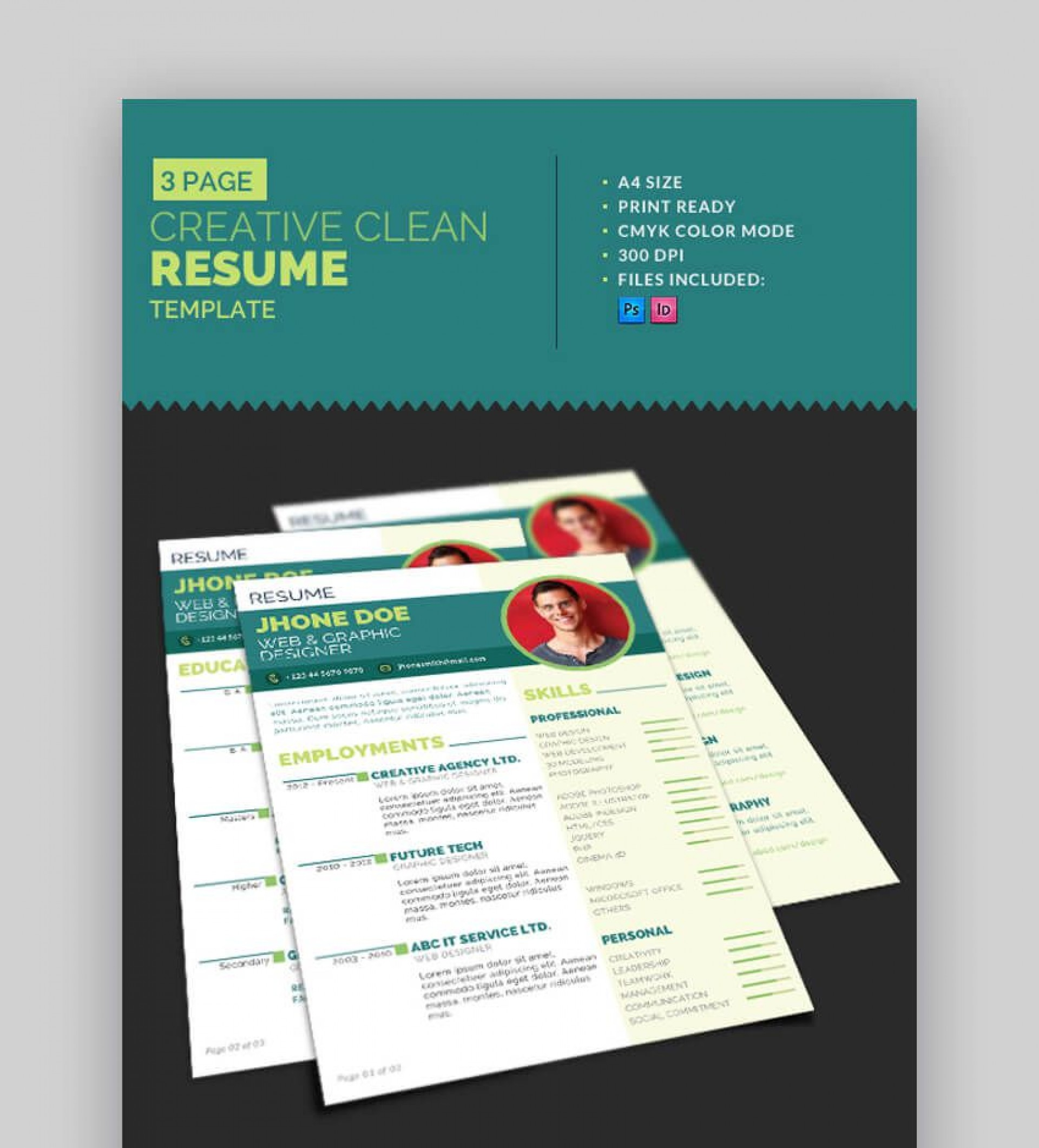 004 Stupendou Eye Catching Resume Template Idea  Microsoft Word Free Download Most1920