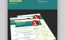 004 Stupendou Eye Catching Resume Template Idea  Microsoft Word Free Download Most