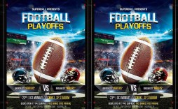 004 Stupendou Football Flyer Template Free Example  Download Flag Party