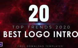 004 Stupendou Free Adobe After Effect Logo Intro Template Inspiration  Templates