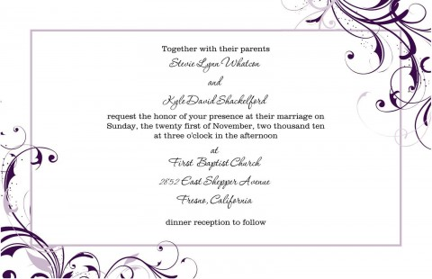 004 Stupendou Free Download Wedding Invitation Template For Word High Def  Microsoft Indian480