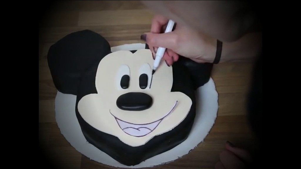004 Stupendou Mickey Mouse Face Template For Cake Photo  PrintableLarge