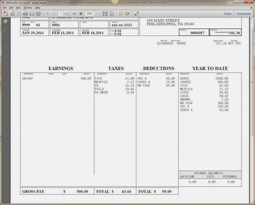 004 Stupendou Pay Stub Template Word Photo  Document Check Microsoft FreeLarge
