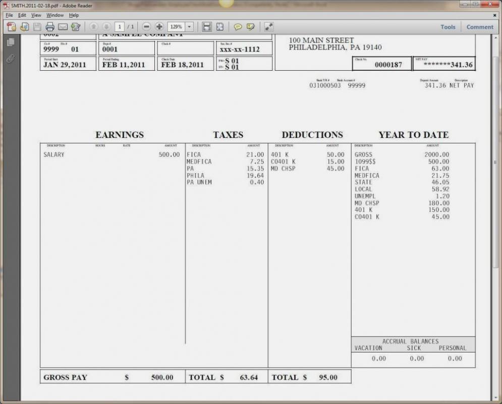 004 Stupendou Pay Stub Template Word Photo  Document Check Microsoft FreeFull