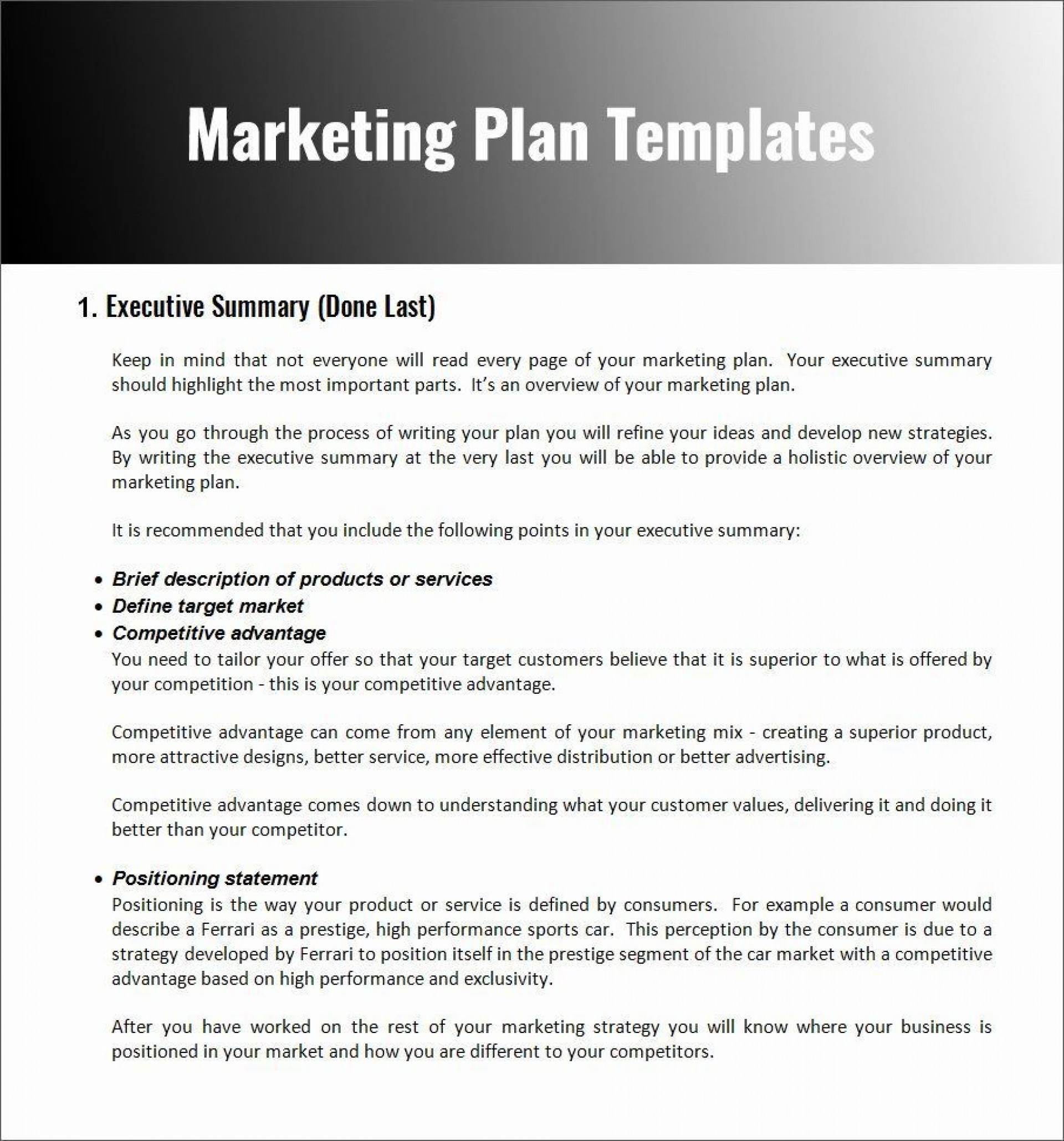 004 Stupendou Restaurant Marketing Plan Template Free Download Design 1920
