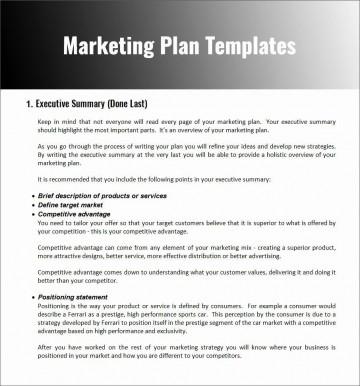 004 Stupendou Restaurant Marketing Plan Template Free Download Design 360