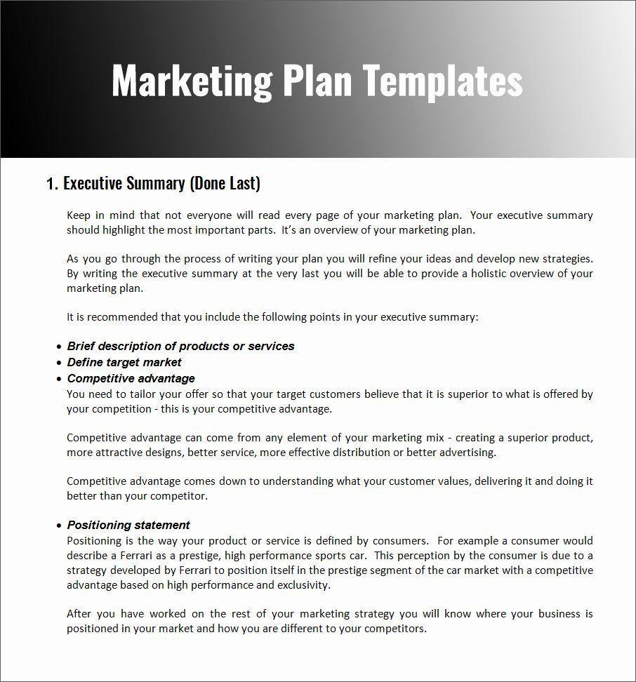 004 Stupendou Restaurant Marketing Plan Template Free Download Design Full