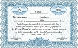 004 Stupendou Stock Certificate Template Word Inspiration  Microsoft