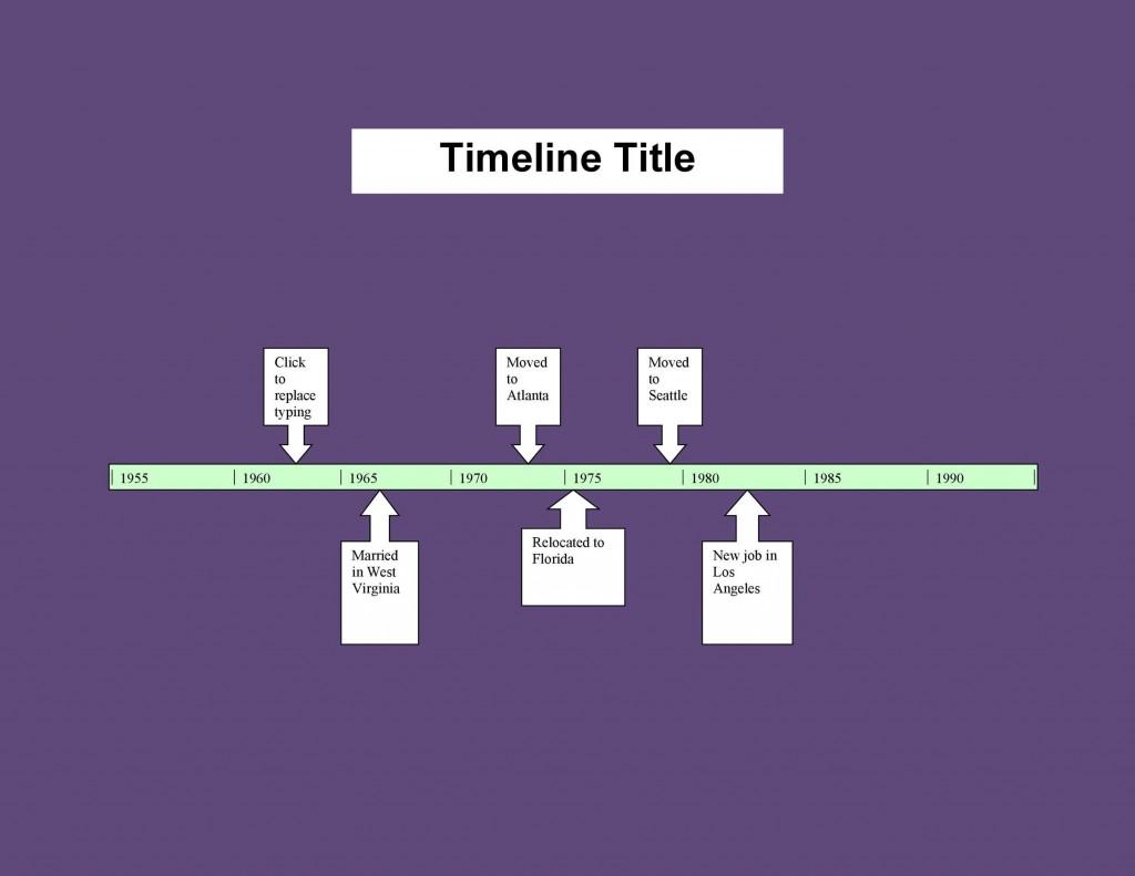 004 Stupendou Timeline Template In Word Idea  2010 Wordpres FreeLarge