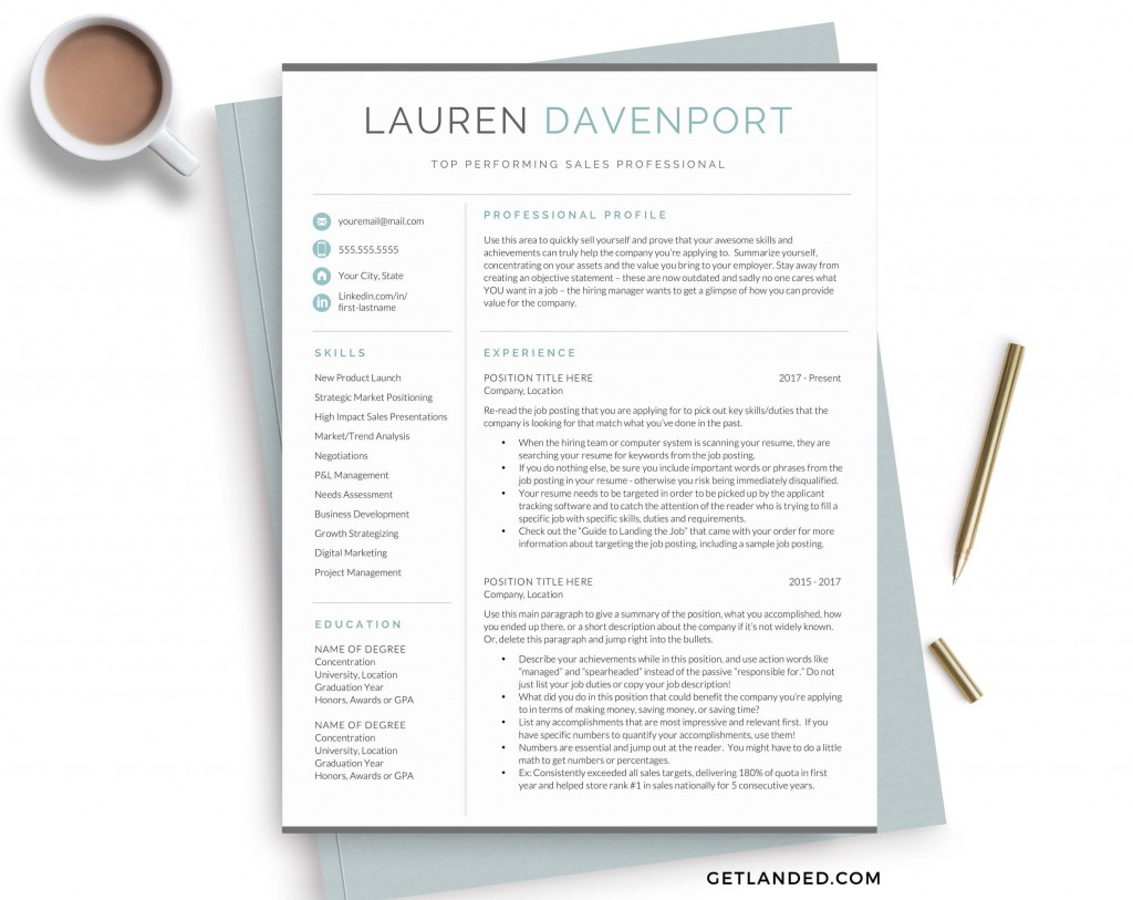 004 Surprising Best Resume Template 2020 Example  Top Rated Free Download RedditLarge