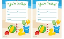 004 Surprising Blank Birthday Invitation Template For Microsoft Word Image