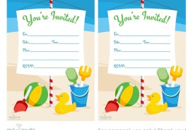 004 Surprising Blank Birthday Invitation Template For Microsoft Word Image