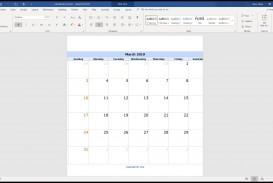 004 Surprising Calendar Template For Word 2007 Design