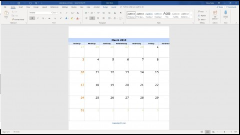 004 Surprising Calendar Template For Word 2007 Design 480