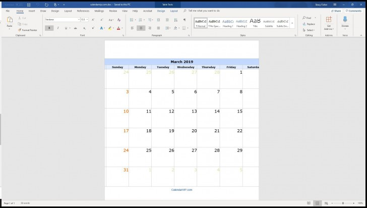 004 Surprising Calendar Template For Word 2007 Design 728