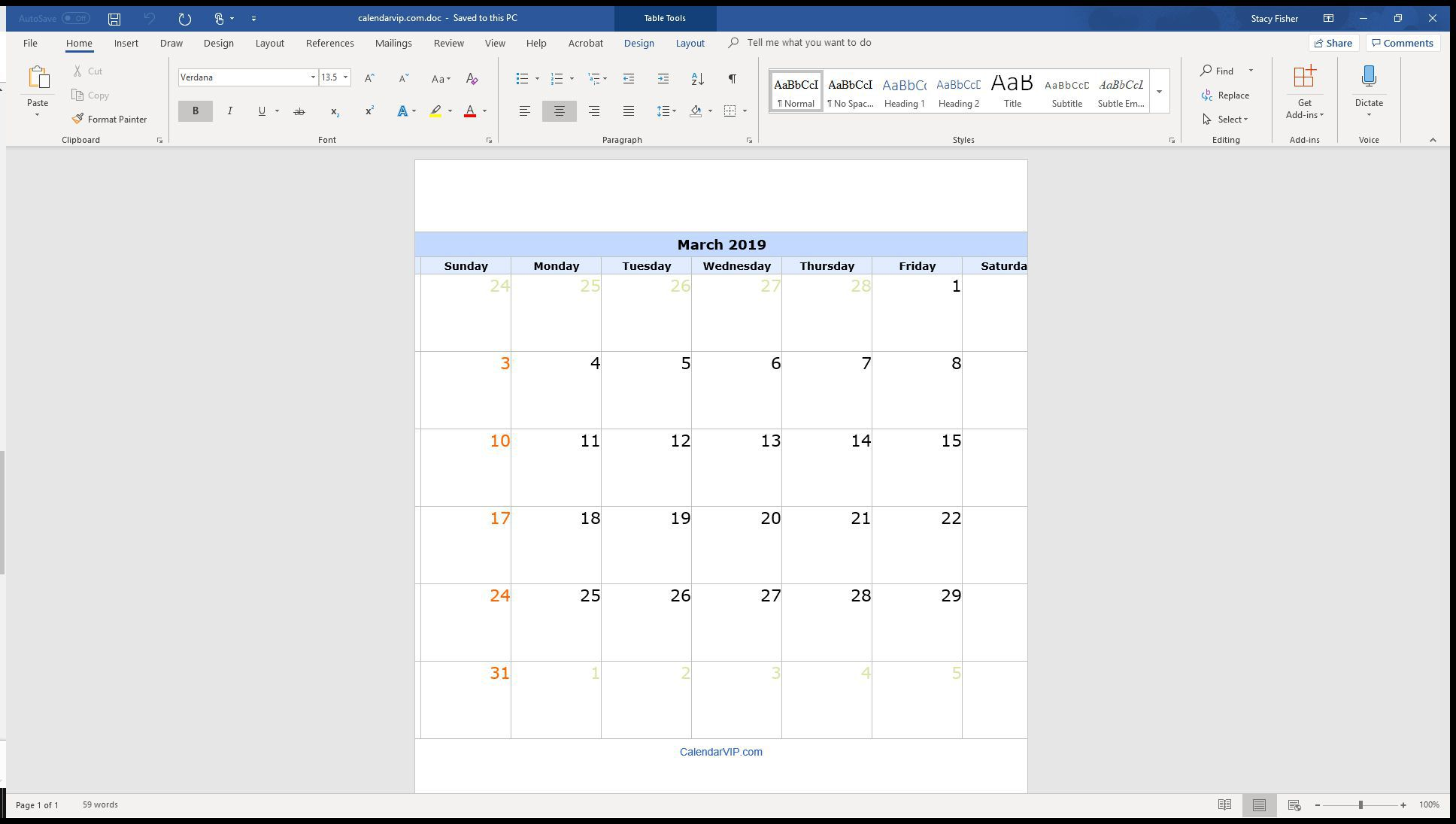 004 Surprising Calendar Template For Word 2007 Design Full