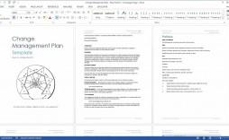 004 Surprising Change Management Plan Template Concept  Templates