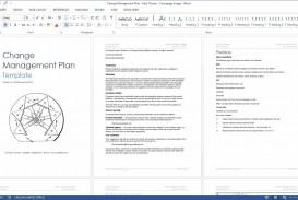 004 Surprising Change Management Plan Template Concept