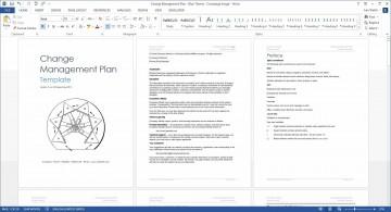 004 Surprising Change Management Plan Template Concept 360
