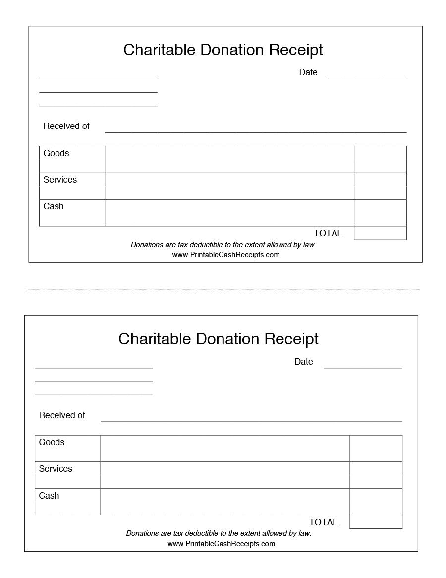 004 Surprising Charitable Contribution Receipt Example Inspiration  Donation Tax Template Sample LetterFull