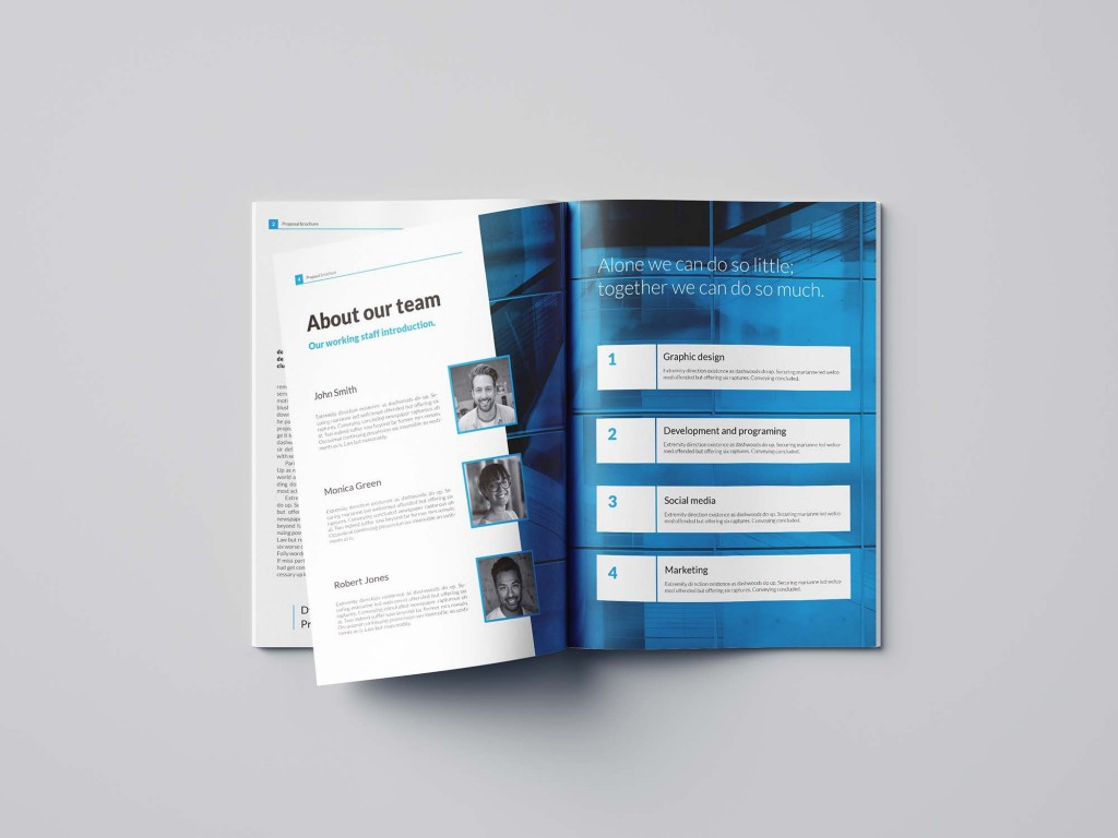 004 Surprising Free Busines Proposal Template Indesign High Resolution Large