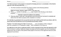 004 Surprising Free Electrical Service Contract Template Example