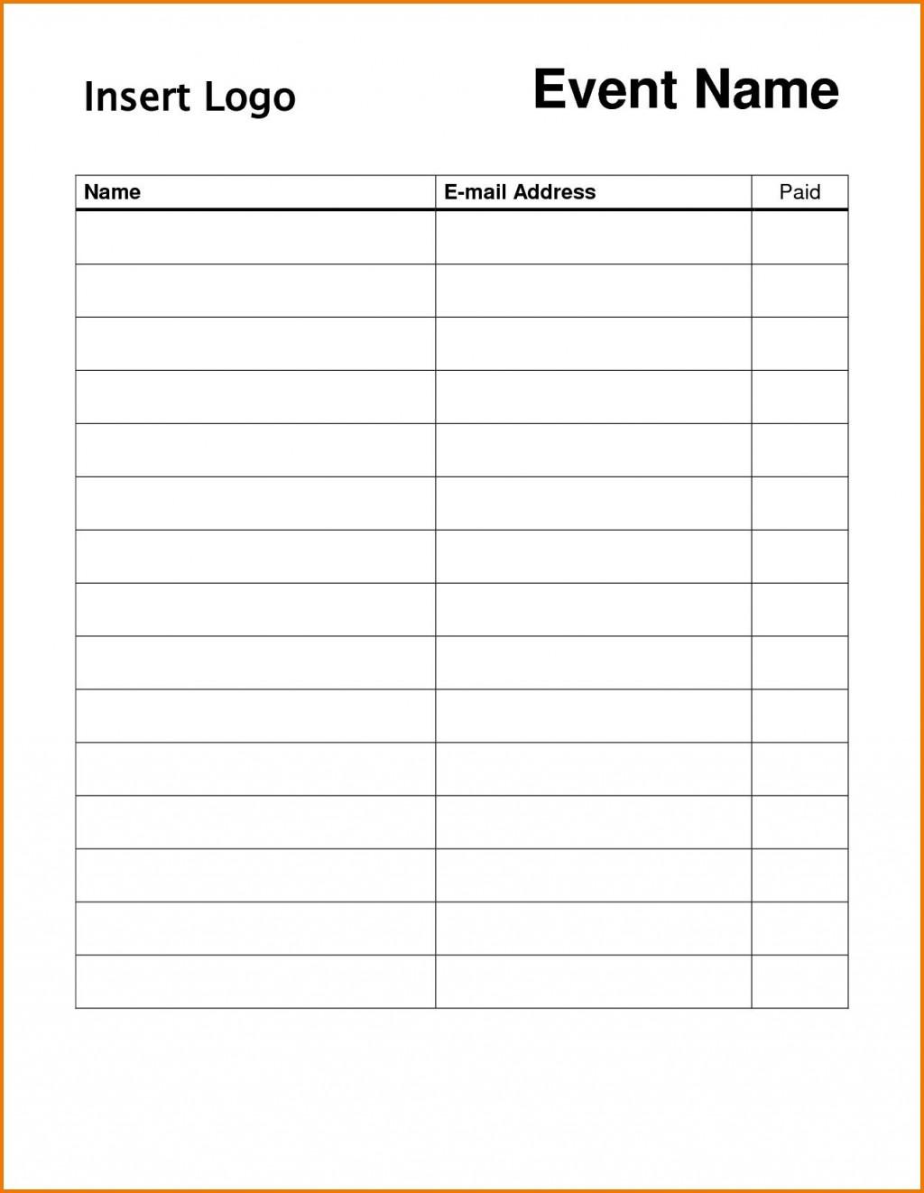 004 Surprising Free Signup Sheet Template Inspiration  Sign Up For Potluck Google Doc Volunteer InLarge