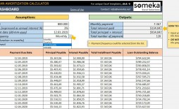 004 Surprising Loan Amortization Template Excel Inspiration  Schedule Free Download