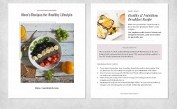 004 Surprising Make Your Own Cookbook Template Free High Resolution  Download