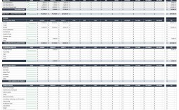 004 Surprising Profit And Los Excel Template Sample  Monthly Download Restaurant Statement Free Dashboard