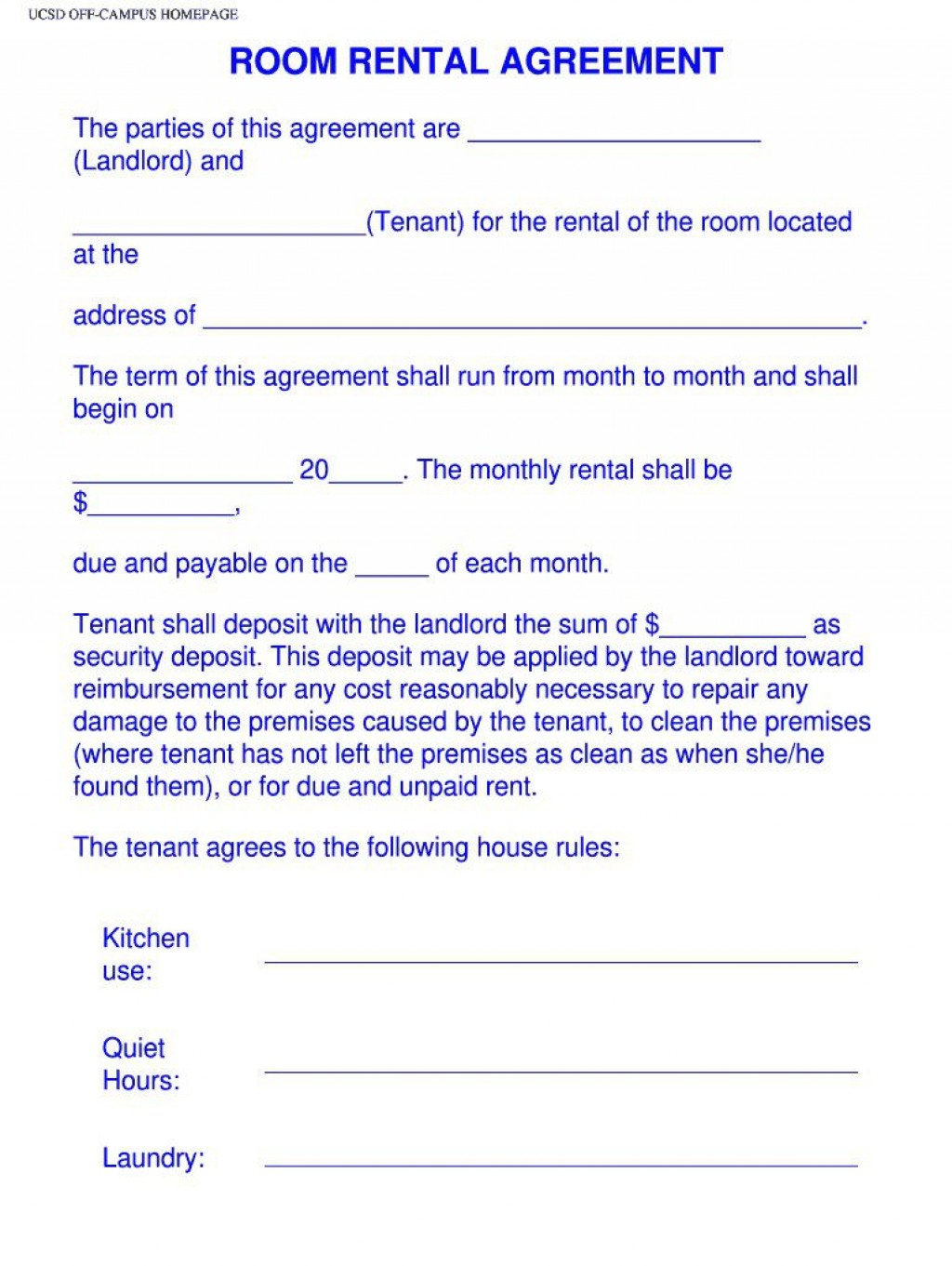 004 Surprising Roommate Rental Agreement Template Photo  Form Free ContractLarge