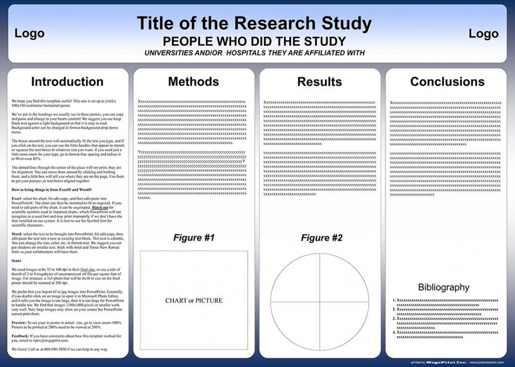 004 Surprising Scientific Poster Design Template Free Download Example Large